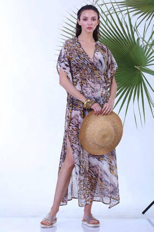 Φόρεμα μακρύ Milena 40156