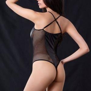 Κορμάκι Milena Body string mesh 002396