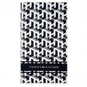 Πετσέτα Θαλάσσης Tommy Hilfiger Monogram Print Pure Cotton UUOUU00035