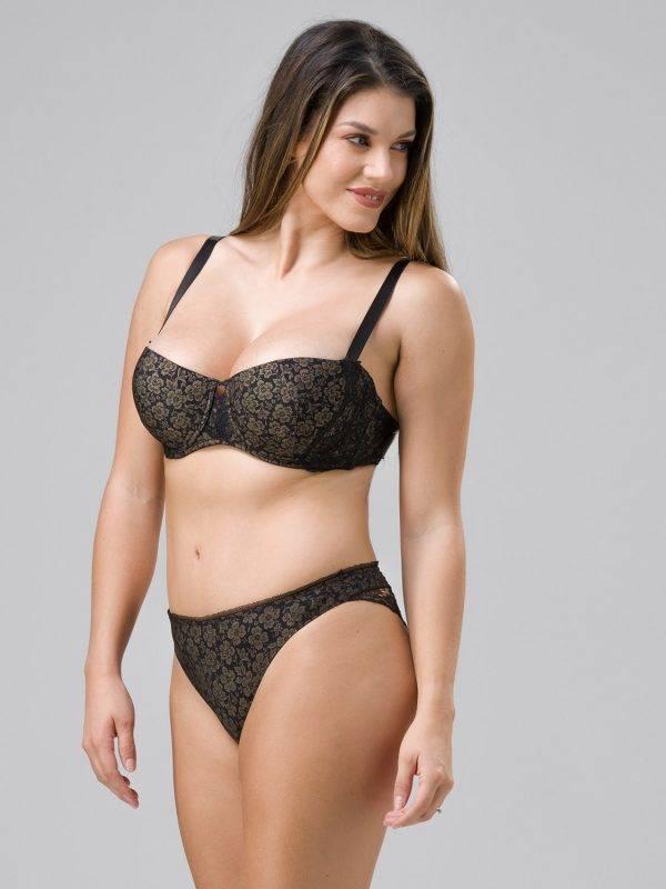 Γυναικείο σλιπ brazilian Burlesque Lyna 24098