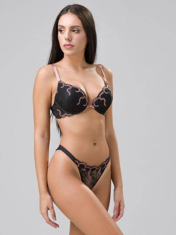 Σουτιεν Moulin Rouge super push up Luna cup B 14097