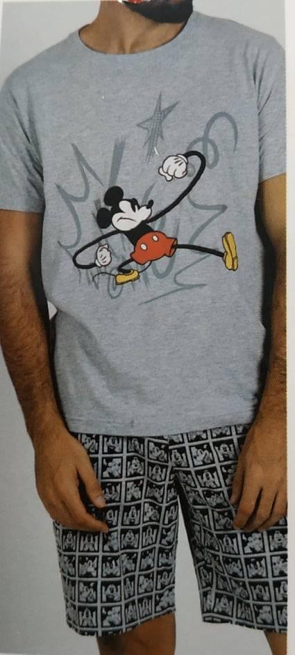 Ανδρική πιτζάμα Disney κοντο μανικι- κοντο παντελόνι 55416-0