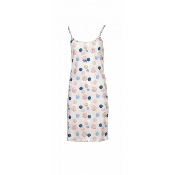 Νυχτικό Pink Label τιράντα Night gown dot S945