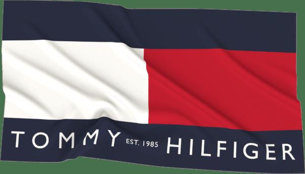 Πετσέτα θαλάσσης Tommy Hilfigerflag large signature UUOUUOOO42