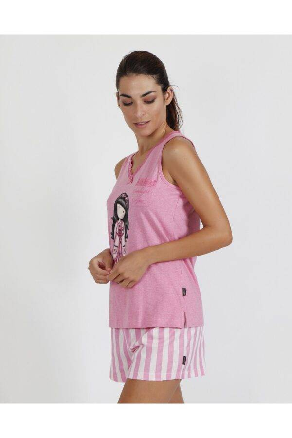Γυναικεία πιτζάμα Santoro τιράντα-σορτς 55504-0