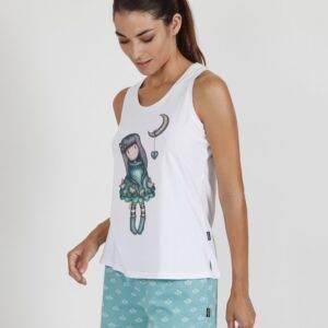 Γυναικεία πιτζάμα Santoro τιράντα-σορτς 55511-0