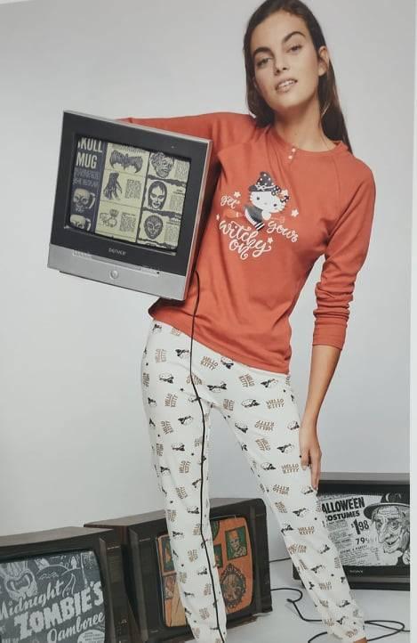 Γυναικεία πιτζάμα M\M Hello Kitty Gisela 1834