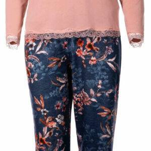 Γυναικεία πιτζάμα Μ\Μ lovely blossom Pink Label W935